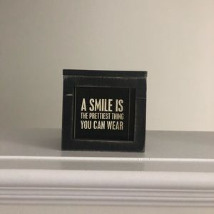 Other - Inspirational quotes in a box for Decor